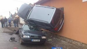 Accident ca-n filme la Târgu-Mureş