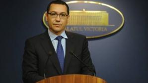 ACCIDENT AVIATIC. Ponta: Așteptăm de la STS asumarea responsabilității