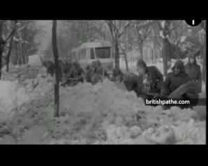 <p>Cădere masivă de ZĂPADĂ, în 1969</p>