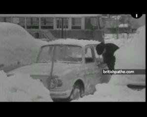 Cădere masivă de ZĂPADĂ, în 1969