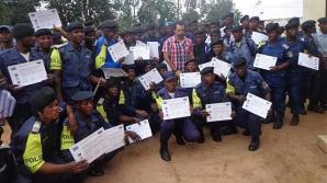 Românul a instruit peste 2000 de poliţişti din Congo