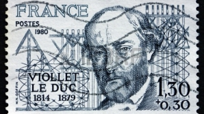 EUGENE VIOLLET-LE-DUC, GOOGLE Doodle special, pentru controversatul arhitect francez
