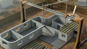 Imprimanta 3D care poate ridica o casă în 24 de ore