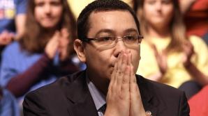 Ponta: Ani de zile am stat în genunchi în Europa, cred că acum trebuie să stăm în picioare / Foto: MEDIAFAX