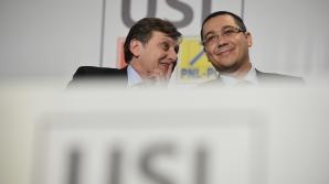 ZIUA UNIRII. Ponta şi Antonescu, la manifestările de ZIUA UNIRII, la Iaşi / Foto: MEDIAFAX