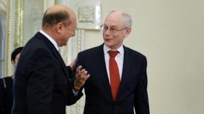 Băsescu se întâlneşte cu Van Rompuy, la Bruxelles / Foto: MEDIAFAX
