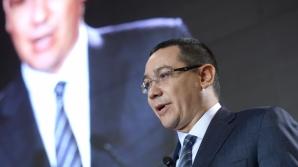 Ponta: USL a avut ca obiectiv schimbarea regimului Băsescu şi trebuie să-l ducă la bun sfârşit