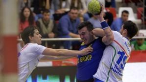 Victorie pentru naționala masculină de handbal
