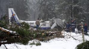 ACCIDENT AVIATIC. Burlui: Structurile IGSU şi-au făcut datoria. La munte nu e ca la câmpie! / Foto: MEDIAFAX