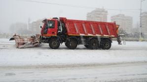 Vicepremierul LIVIU DRAGNEA se declară 'MULŢUMIT' de activitatea drumarilor pe DN2 / Foto: MEDIAFAX