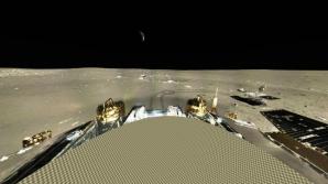 Panoramă interactivă cu imaginile realizate de China pe Lună