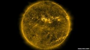 Activitatea Soarelui a scazut la cea mai mica intenstitate din ultimul secol