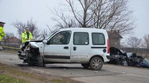 Accident grav în Dolj, cu cinci victime