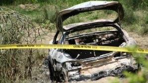 Sinuciderea, principala ipoteză în cazul omul de afaceri găsit carbonizat în maşină