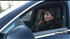 Nadia Simion a făcut circ după de a fost oprită în trafic