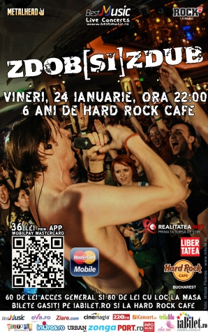 Zdob si Zdub la Hard Rock Cafe