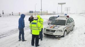 Accident în lanţ pe A2 cu aproximativ 20 de maşini implicate