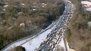 Mii de şoferi blocaţi în Atlanta