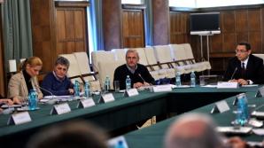 COD ROŞU: COMANDAMENT DE IARNĂ la Guvern / Foto: gov.ro