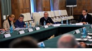 COMANDAMENT DE IARNĂ, marţi seara, la Guvern / Foto: gov.ro