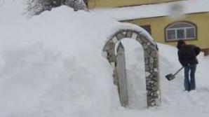 Prefectul de Brăila, prizonierul zăpezilor