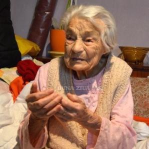 Trista poveste a celei mai în vârstă locuitoare a Iaşiului