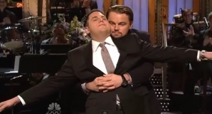 Jonah Hill şi Leonardo DiCaprio au recreat scena din Titanic
