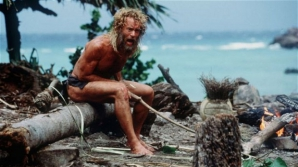 Cum a reuşit un bărbat să supravieţuiască timp de 16 luni plutind în derivă pe un atol. FOTO: captura film Castaway