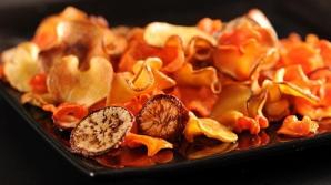 Chipsurile din legume 'home made', un JUNK FOOD SĂNĂTOS