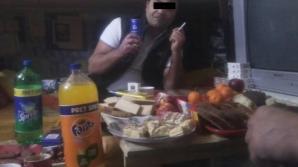Mai mulți deținuți s-au lăudat pe Facebook cu masa lor de Revelion
