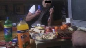 Anchetă la Colibaşi după ce deţinuţii au postat pe Facebook fotografii de la masa de Revelion