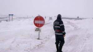 Patru drumuri naţionale sunt închise