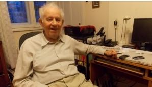 Vasile Nussbaum, în vârstă de 85 de ani, a scăpat din lagărul morții de la Auschwitz