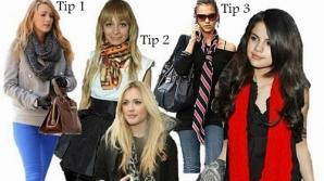 Cum să porţi o eşarfă sau un fular în sezonul rece: 5 idei originale