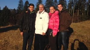 Familia Năstase, la munte