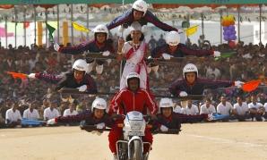 Ziua Naţională a Indiei. Imagini de la parada militară