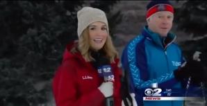 O jurnalistă de la televiziunea KUTV din Utah, SUA, a leşinat în timpul unui reportaj live realizat pe o pârtie de schi