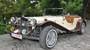 Un Mercedes Cabrio din anul 1929
