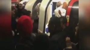 Bătaie la metrou în noaptea de Anul Nou