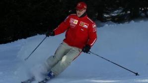 Michael Schumacher a filmat accidentul cu o cameră instalată pe casca sa