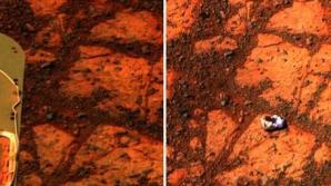 Cercetătorii n-au nicio explicație pentru obiectul în formă de gogoașă apărut pe Marte