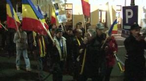 Un miting împotriva mineritului cu cianuri şi a fracturării hidraulice a avut loc în Oradea