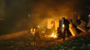 Proteste violente la Kiev