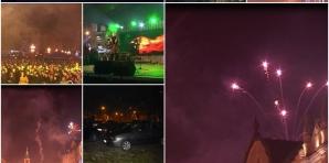 Revelionul la Timişoara: Artificiile nu s-au văzut, primarul e plecat în concediu