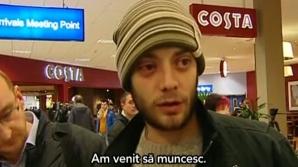 Primul român ajuns în UK în 2014