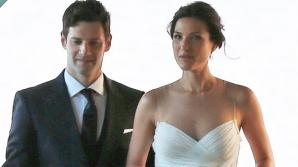 S-au căsătorit. Relaţia lor a început de Revelion