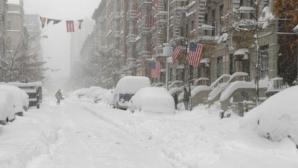 Estul Statelor Unite se confruntă cu un nou val de frig și ninsori