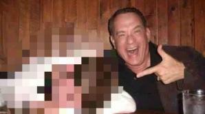 Tom Hanks s-a pozat alături de un tânăr beat