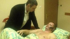 Un membru al Opoziţiei susţine că a fost răpit, torturat şi desfigurat în timpul dispariţiei sale de mai multe zile