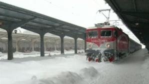 CFR Călători: Trei linii închise şi peste 100 de trenuri anulate